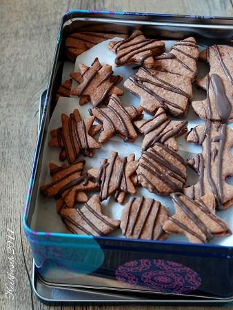Plätzchen verzieren schokolade